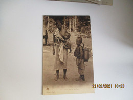 Indochine  Femme Moix Et Ses Ngno Edi  Crespin Saigon  Viet Nam - Vietnam