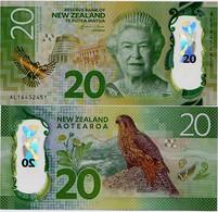 NEW ZEALAND        20 Dollars        P-193       (20)16          UNC - Nueva Zelandía