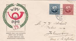 UPU - 75 Years - WPV Wereld Post Vereniging - Covers & Documents