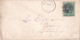USA  ENTIER POSTAL/GANZSACHE/POSTAL STATIONARY LETTRE DE MILLERTON - ...-1900