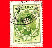 ARGENTINA - Usato -  1973 - General José Francisco De San Martin (1778-1850) - 90 - Oblitérés