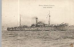 FC / Old Postcard Cartolina Postale Carta Postal / CPA Carte Postale Marine Militaire Française Aviso SUIPPE - Guerra