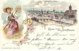 CPA Suisse - Schaffhouse * Gruss Aus Schaffhausen * - SH Schaffhouse