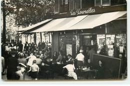 Carte Photo PARIS - Café Les Tournelles - Cafés, Hotels, Restaurants