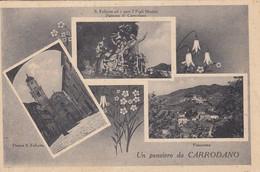 CORRODANO-LA SPEZIA-UN PENSIERO DA..-3 VEDUTINE-CARTOLINA  VIAGGIATA IL 20-9-1937 - La Spezia