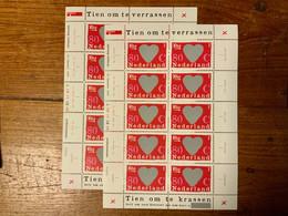 Tiem Om Te Verrassen X 2 1997 Blok Niew - Blocks & Sheetlets