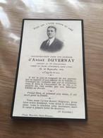 Carte De Décès D'un Soldat Du 16°rgt D'infanterie Tué Dans L'Oise Septembre 14 1914-18 - 1914-18