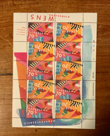 Wens Postzegels Blok Niew - Blocks & Sheetlets