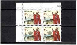 Lithuania 2011 . Pope John Paul II. Block Of 4.  Michel # 1065 - Lituanie