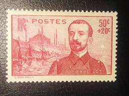 Timbre De France Pierre Loti N° 353 NEUF 1937 - Ungebraucht