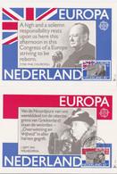 Europa 1980 - Wilhelmina (1 Sept 1941) - Churchill (7 Mei 1848) - Briefe U. Dokumente