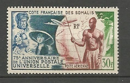 COTE DES SOMALIS PA  N° 23  NEUF(*) Sans Gom / Trace De CHARNIERE / MH - Unused Stamps
