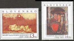 Slovakia 1999, Art, MNH Stamps Set - Nuevos