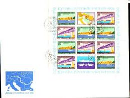 BULGARIA - 1978 - Europa - Danub Komision - Bl** - FDC Grand Formafe - Nuevos