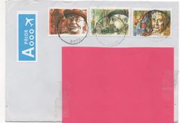 Belgium 2019.Nevele. Colourful Cover To UK. Multiple Franking - Interesting - Cartas