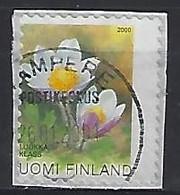 Finland 2000  Plants  (o) Mi.1532  (perforation Shift- Missing S Of SUOMI And 1 Of 1 Klass) - Abarten Und Kuriositäten