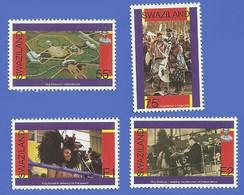 SWAZILAND NEUFS **  678 / 681 ANNIVERSAIRE DE L'INDEPENDANCE - Swaziland (1968-...)