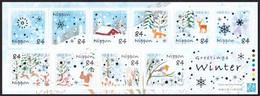 (ja1501) Japan 2020 Greetings Winter 84y MNH Rabbit Squirrel Owl Fox Bird Deer - Ungebraucht