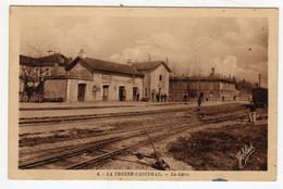 CPSM Près Bordeaux Latresne Castera  La Tresne Casterat 33 Gironde Gare Petite Animation éditeur Marcel Delboy N°6 - Bordeaux