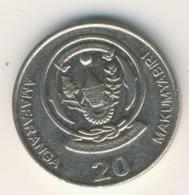RWANDA 2009: 20 Amafaranga, KM 35 - Rwanda