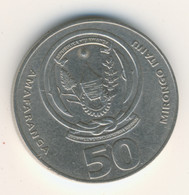 RWANDA 2003: 50 Amafaranga, KM 26 - Rwanda