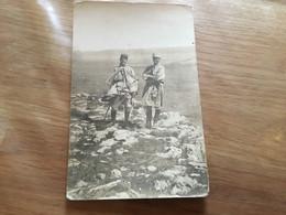Carte Photo De Deux Officiers De La Légion étrangère Années 30 - Documents