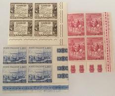 1960 - Italia - Spedizione Dei Mille - Tre Valori - 1946-60: Mint/hinged
