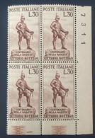 1960 - Italia - Centenario Della Nascita Di Vittorio Bottego - Lire 30 - 1946-60: Mint/hinged