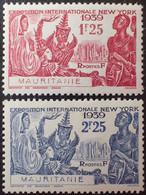 R1507/108 - 1939 - COLONIES FR. - MAURITANIE - N°98 à 99 NEUFS* - Neufs