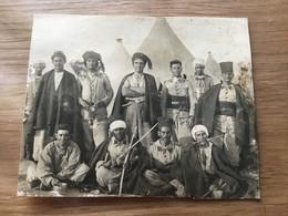 Photo De Spahis Du 7° Régiment Indigènes  Années 20-30 10 X 8 Cm - Documents