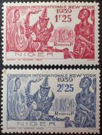 R1507/109 - 1939 - COLONIES FR. - NIGER - N°67 à 68 NEUFS* - Neufs