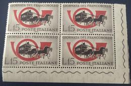1960 - Italia - Giornata Del Francobollo - Lire 15 - 1946-60: Mint/hinged