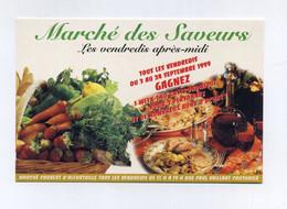 Marché Des Saveurs. Marché Couvert D'Alfortville (94, Val-de-Marne) Les Vendredis Après-midi. Paul Vaillant Couturier - Advertising