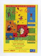 Le Conseil Général Des Hauts-de-Seine Vous Invite à Parcs En Fête. Parc Des Chanteraines. 92 - Advertising