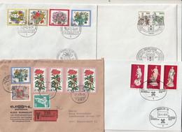 Bundesrepublik Deutschland/Berlin - Zusammenstellung Von 8 Briefen Mit Guten Frankaturen (1/086-40) - Collections