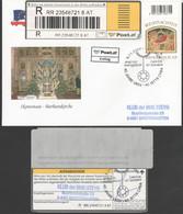 Österreich 2007 : RECO/ET Christkindlbrief V. 9.11.2007 Mit Recozettel( Siehe Scan/Foto) - FDC