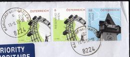 Austria Kaindorf Bei Hartberg 2015 / Riesenrad Wien, Wheel, Uhrturm Graz, Clock Tower - 2011-... Cartas