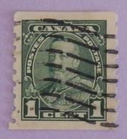 """CANADA YT 179a OBLITÉRÉ """"GEORGE V"""" ANNÉE 1935 - Oblitérés"""