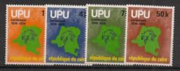 Zaire - 1977 - N°Yv. 896 à 899 - UPU - Neuf Luxe ** / MNH / Postfrisch - 1971-79: Mint/hinged