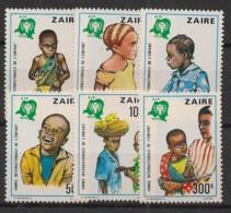 Zaire - 1979 - N°Yv. 951 à 956 - Année De L'enfant - Neuf Luxe ** / MNH / Postfrisch - 1971-79: Mint/hinged