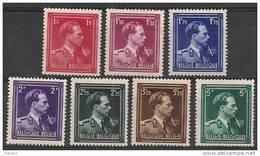 Nrs 690/696 Xx  S M  Le Roi Leopold 3/Z M Koning Leopold 3 - 1936-1957 Col Ouvert