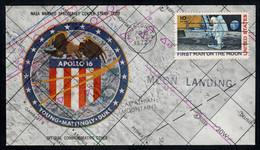 United States 1972 SC With Mi# 990 - Apollo 16 / Space - United States