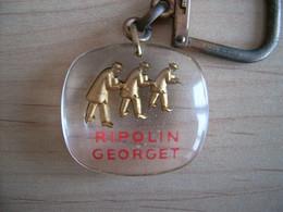 Porte-clés Inclusion Bourbon Ripolin Georget Peinture - Portachiavi