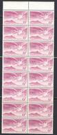 Ireland 1948 Air Mail, Mint No Hinge, Strip Of 16, Sc# C3, SG 142 - Airmail