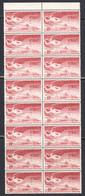 Ireland 1948 Air Mail, Mint No Hinge, Strip Of 16, Sc# C4, SG 142a - Airmail