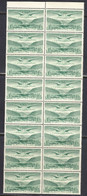 Ireland 1948 Air Mail, Mint No Hinge, Strip Of 16, Sc# C5, SG 143 - Airmail