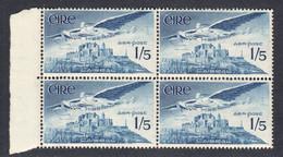 Ireland 1948 Air Mail, Mint No Hinge, Block, Sc# C7, SG 143b - Airmail