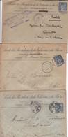 Lettres  Pub Société Des Phosphates De La Valserine & Rhin  1895-96 - Advertising