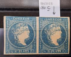 Antillas N7** ( La E De Correos Parece Una C - Cuba (1874-1898)