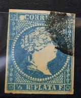 Antillas N7( Punto Blanco Antes De La C - Cuba (1874-1898)